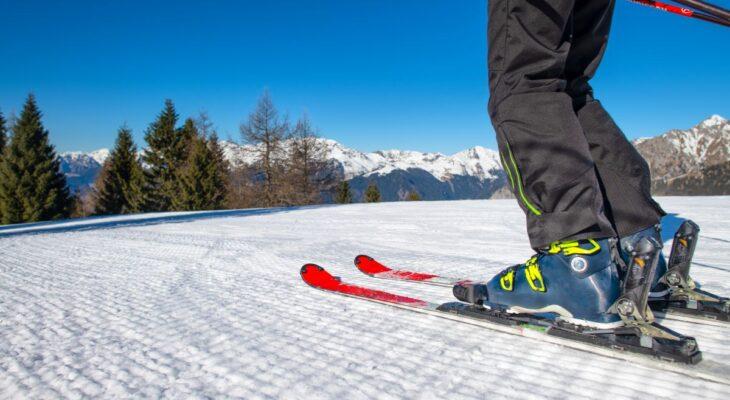 Uchwyt na narty